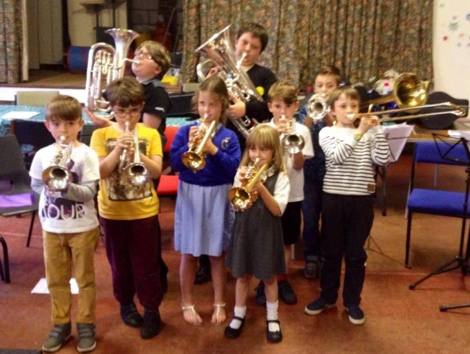 GYB Future Brass beginners debut concert
